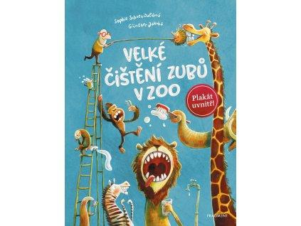 VELKÉ ČIŠTĚNÍ ZUBŮ V ZOO, SOPHIE SCHOENWALDOVÁ, zlatavelryba.cz (1)