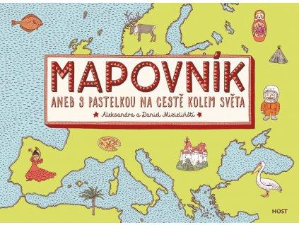 Mapovník, ALEKSANDRA MIZIELIŃSKA, DANIEL MIZIELIŃSKI, zlatavelryba.cz