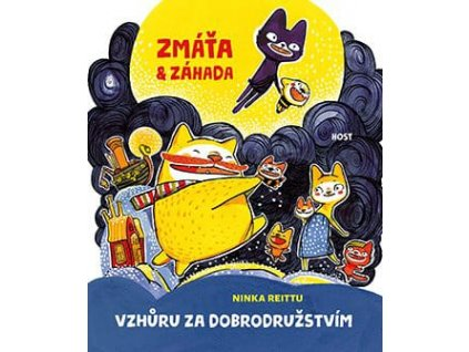 Zmáťa a Záhada 2, Ninka Reittu, zlatavelryba.cz