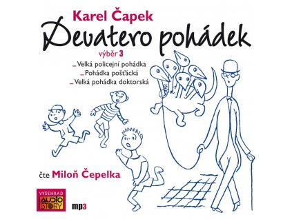 DEVATERO POHÁDEK, AUDIOKNIHA, zlatavelryba.cz