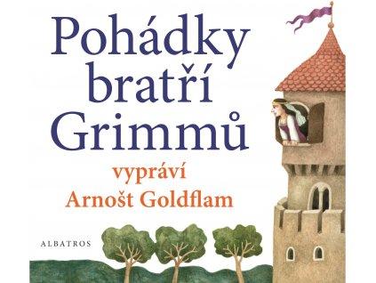 POHÁDKY BRATŘÍ GRIMMŮ VYPRÁVÍ ARNOŠT GOLDFLAM (AUDIOKNIHA PRO DĚTI), zlatavelryba.cz