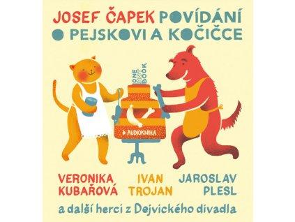 POVÍDÁNÍ O PEJSKOVI A KOČIČCE (AUDIOKNIHA), zlatavelryba.cz