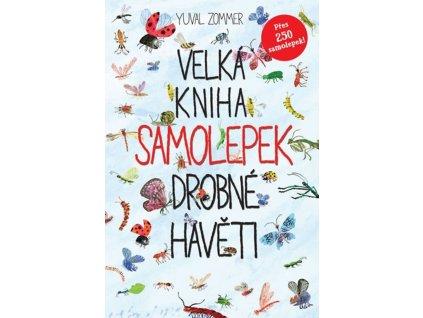 VELKÁ KNIHA SAMOLEPEK DROBNÉ HAVĚTI, YUVAL ZOMMER, zlatavelryba.cz (1)