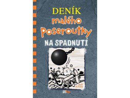 DENÍK MALÉHO POSEROUTKY 14 NA SPADNUTÍ, JEFF KINNEY, zlatavelryba.cz (1)