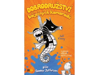 DOBRODRUŽSTVÍ BÁJEČNÝCH KAMARÁDŮ, JEFF KINNEY, zlatavelryba.cz (1)