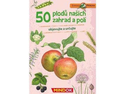 EXPEDICE PŘÍRODA 50 PLODŮ NAŠICH ZAHRAD A POLÍ, MINDOK, zlatavelryba.cz