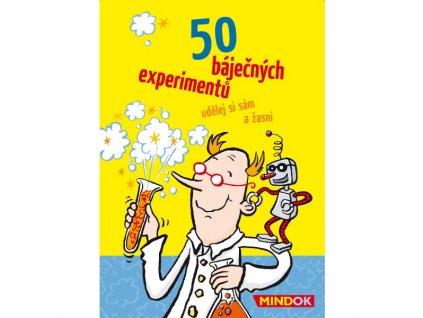 50 BÁJEČNÝCH EXPERIMENTŮ, MINDOK, zlatavelryba.cz