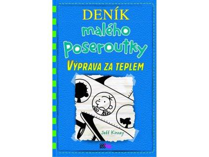 DENÍK MALÉHO POSEROUTKY 12 VÝPRAVA ZA TEPLEM, JEFF KINNEY, zlatavelryba.cz (1)