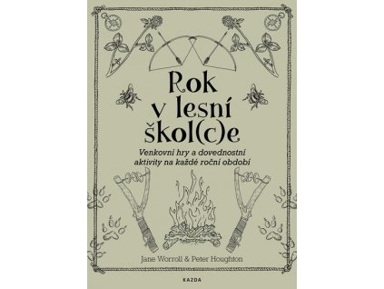 ROK V LESNÍ ŠKOL(C)E, WORROLL JANE, HOUGHTON PETER, zlatavelryba.cz (1)