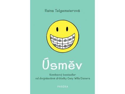 Úsměv, Raina Telgemeierová, zlatavelryba.cz