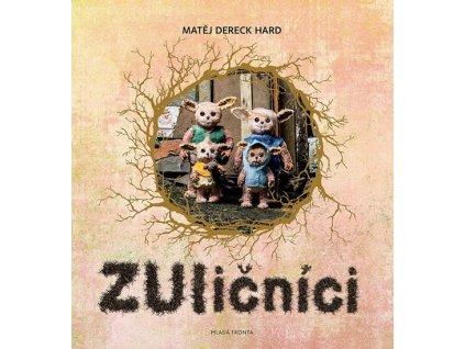 ZULIČNÍCI PŘÍBĚH VYKUTÁLENÝCH TVOREČKŮ Z MĚSTA, MATĚJ DERECK HARD, zlatavelryba.cz
