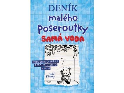 DENÍK MALÉHO POSEROUTKY 15 SAMÁ VODA, JEFF KINNEY, zlatavelryba.cz (1)