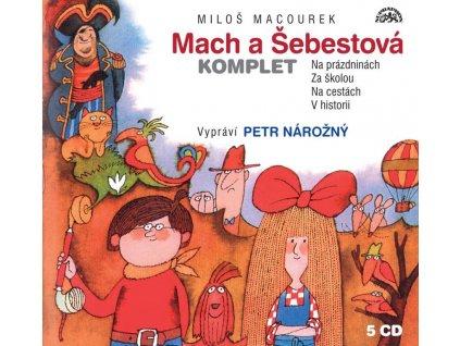 MACH A ŠEBESTOVÁ KOMPLET 5 CD, MACOUREK MILOŠ, zlatavelryba.cz