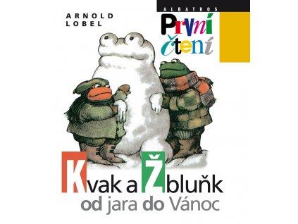 Kvak a Žbluňk od jara do Vánoce, Arnold Lobel, zlatavelryba.cz 1