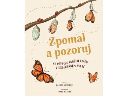 ZPOMAL A POZORUJ 50 PŘÍBĚHŮ PLNÝCH KLIDU V USPĚCHANÉM SVĚTĚ, RACHEL WILLIAMS, zlatavelryba.cz