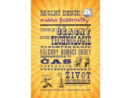 ŠKOLNÍ DENÍK MALÉHO POSEROUTKY,JEFF KINNEY, zlatavelryba.cz (1)
