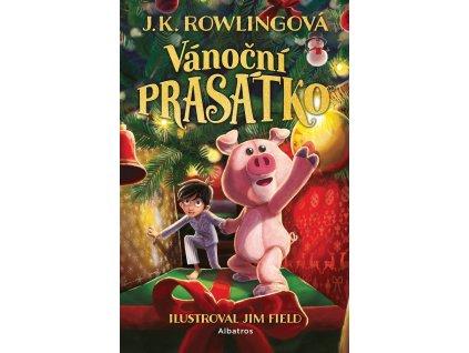 VÁNOČNÍ PRASÁTKO, J. K. ROWLINGOVÁ, zlatavelryba.cz (1)