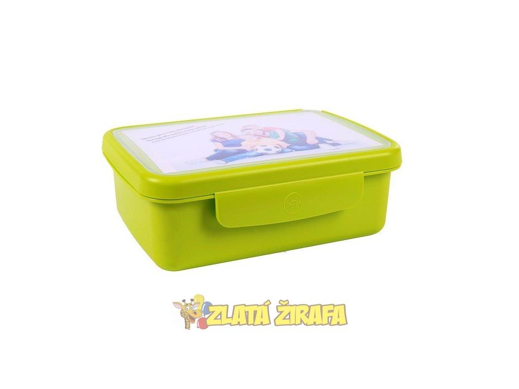 zdrava svaca komplet box zelena 382