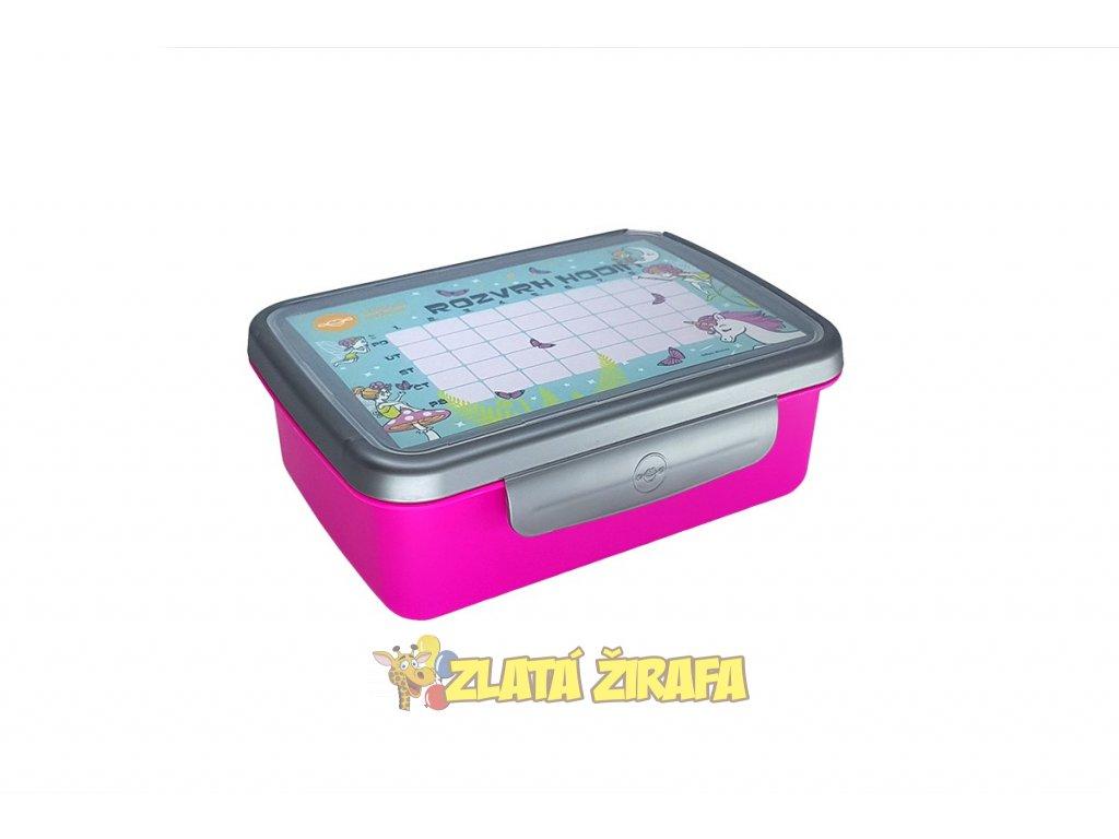 zdrava svaca komplet box fluo fialova nerez (4)