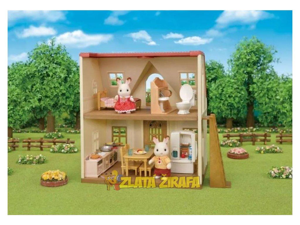 Nábytek - startovací set nábytků a ´´chocolate´´ králík taťka