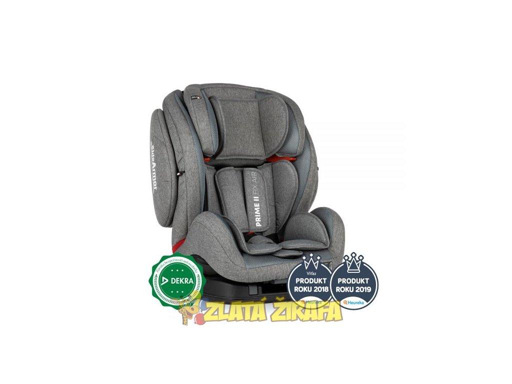 Autosedačka Prime II Isofix Stone Air 9-36 kg Petite&Mars