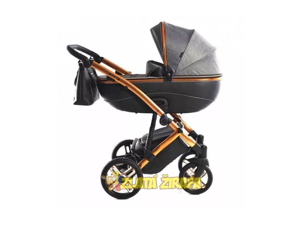 Kočárek pro novorozence Jasmine Bennetta Soft Limited Edition 01