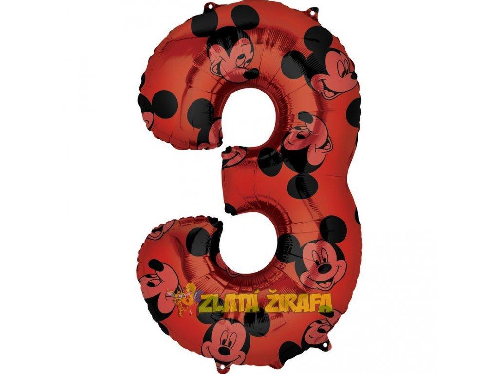 66 cm balónek 3 - Mickey Mouse