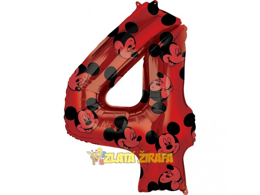 66 cm balónek 4 - Mickey Mouse