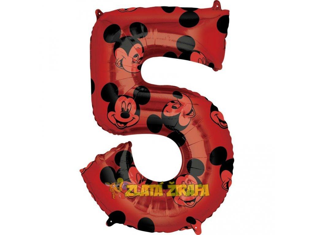 66 cm balónek 5 - Mickey Mouse