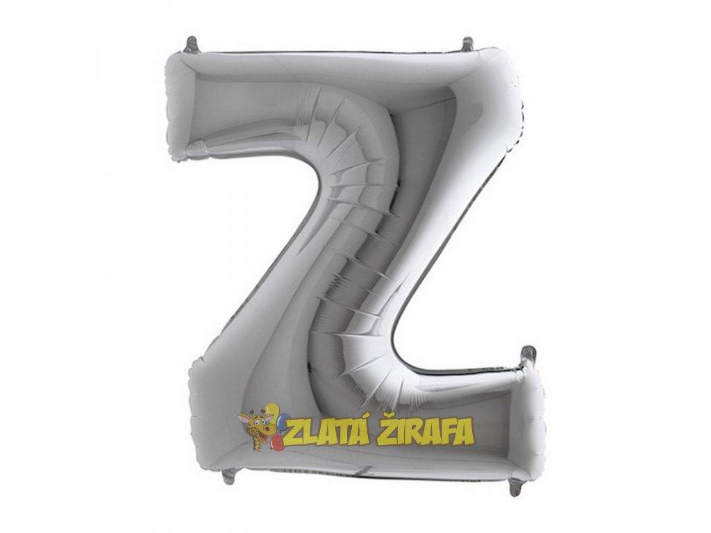 459S Letter Z Silver