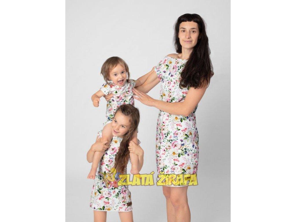 Dámské letní šaty ANGELIKA FLOWERS