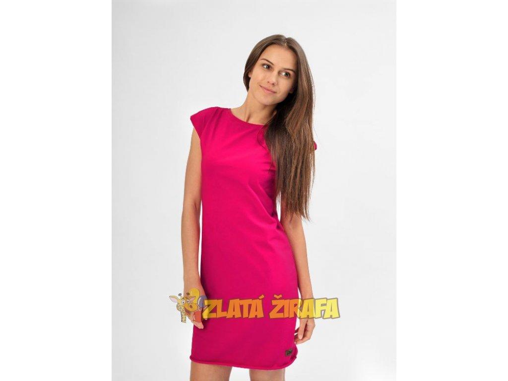 Dámské letní šaty dospělé ANGELIKA REALLY PINK