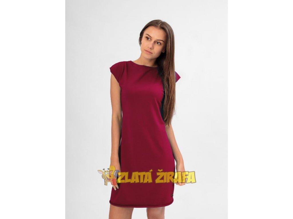 Letní šaty ANGELIKA WINE
