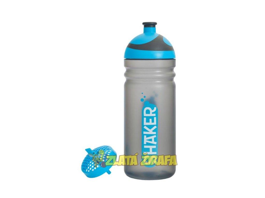Zdravá lahev SHAKER modrý 0,7l