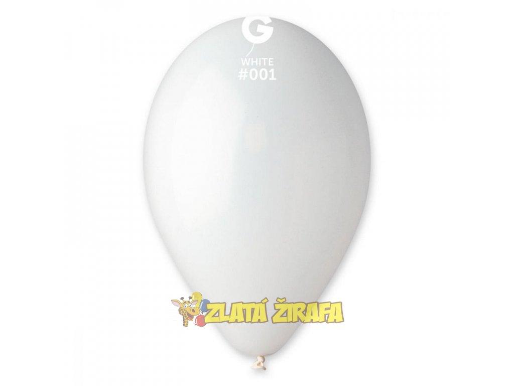 kulaty nafukovaci balonek 26 cm 10ks barva bila 0 800 800