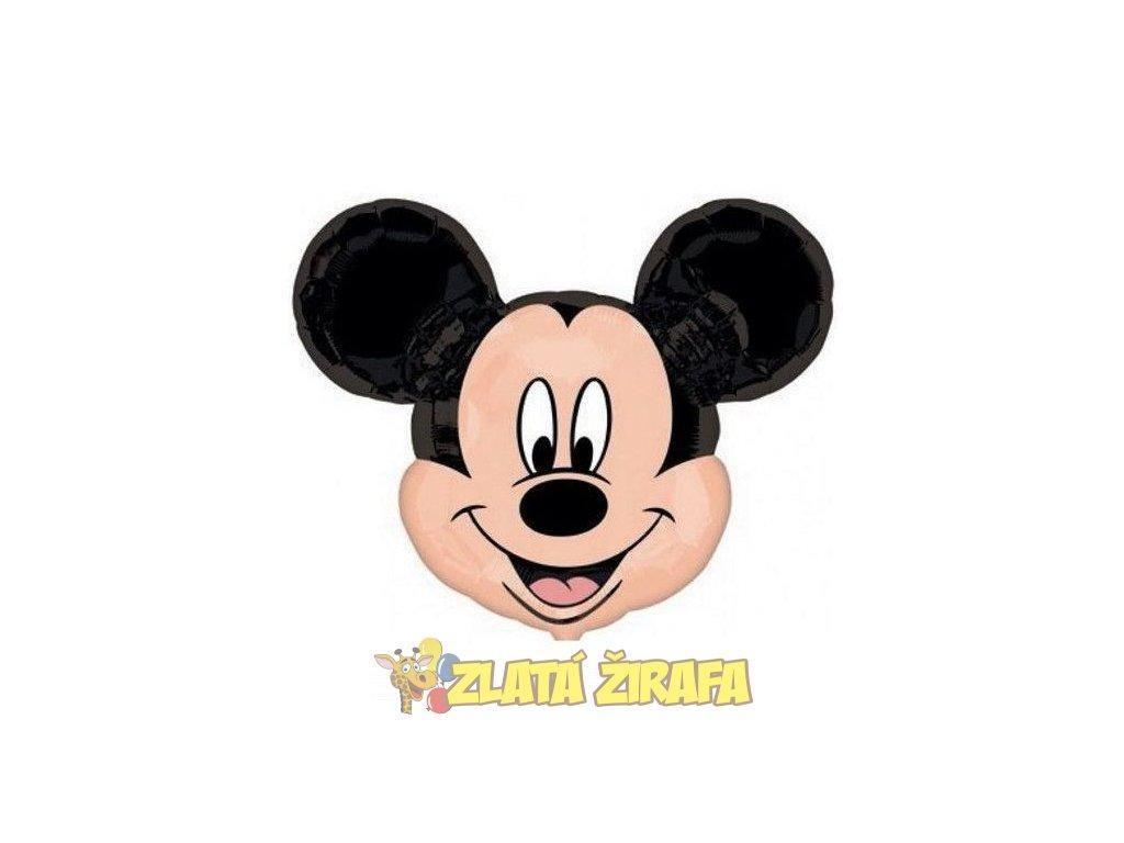 hlava mickey mouse