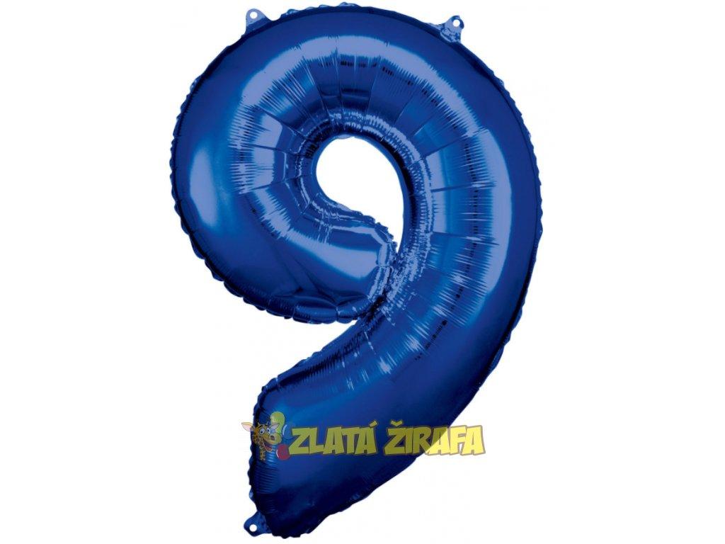 cislice 9 modra