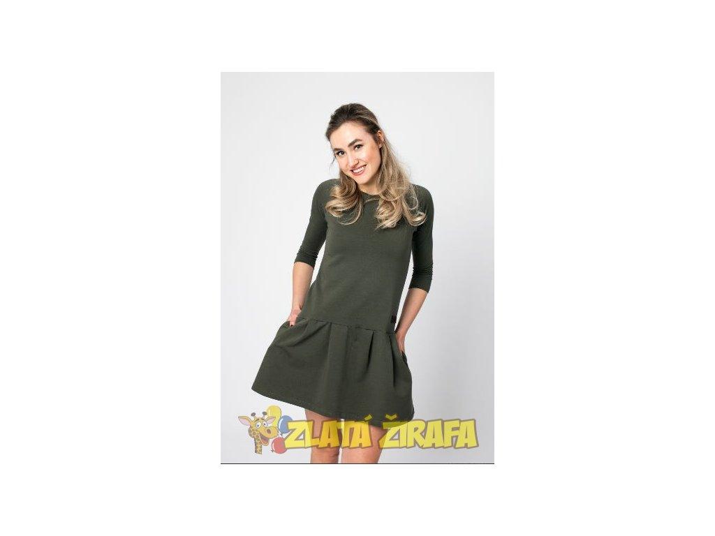 Dámské šaty GAB DARK KHAKI