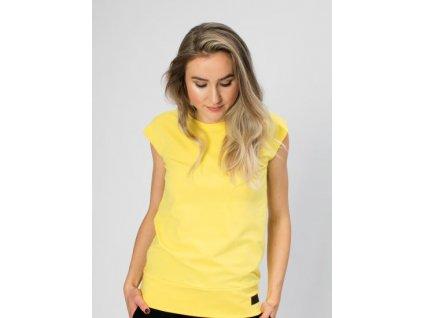 Drexiss dámské tričko BASIC YELLOW