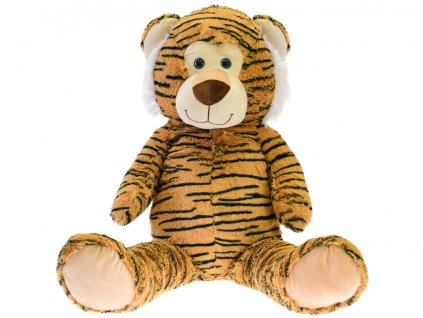 Tygr plyšový 59cm sedící