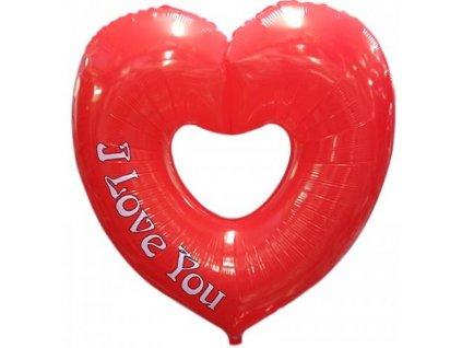 92cm balónek - I love you