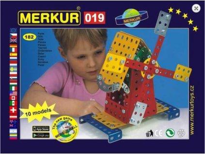 Stavebnice MERKUR M 019 Větrný mlýn