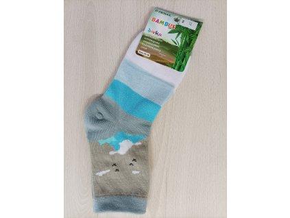 Ponožky chlapecké modré