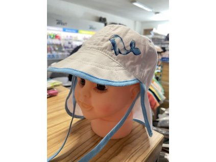 Dětská čepice na plavání modrá