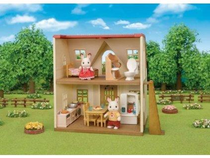 Nábytek - startovací set nábytků a chocolate králík taťka