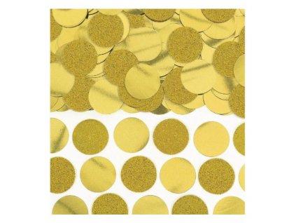 confety zlaté