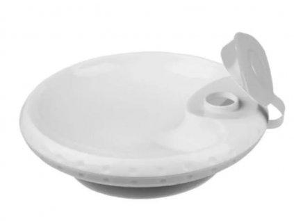 Miska s přísavkou termo - šedá