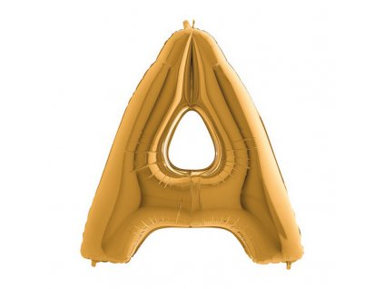 202G Letter A Gold