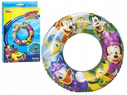 Plavací kruh Mickey závodník