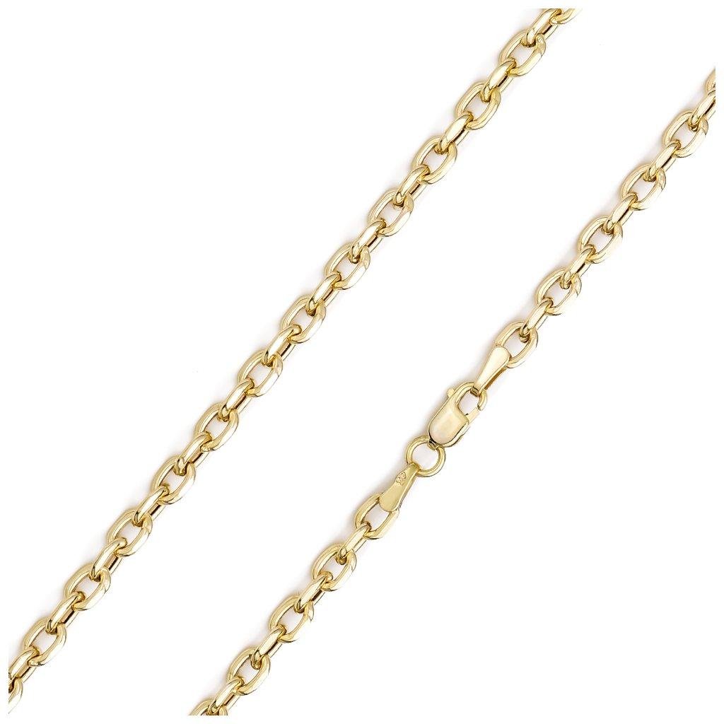 Zlatá retiazka Anker 3,7 mm 8342